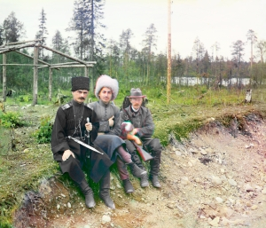 Sergei Prokudin and Cossacks